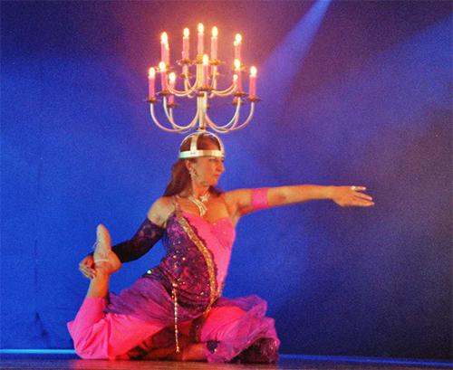 Shamadan - Tanzleuchter von Malu